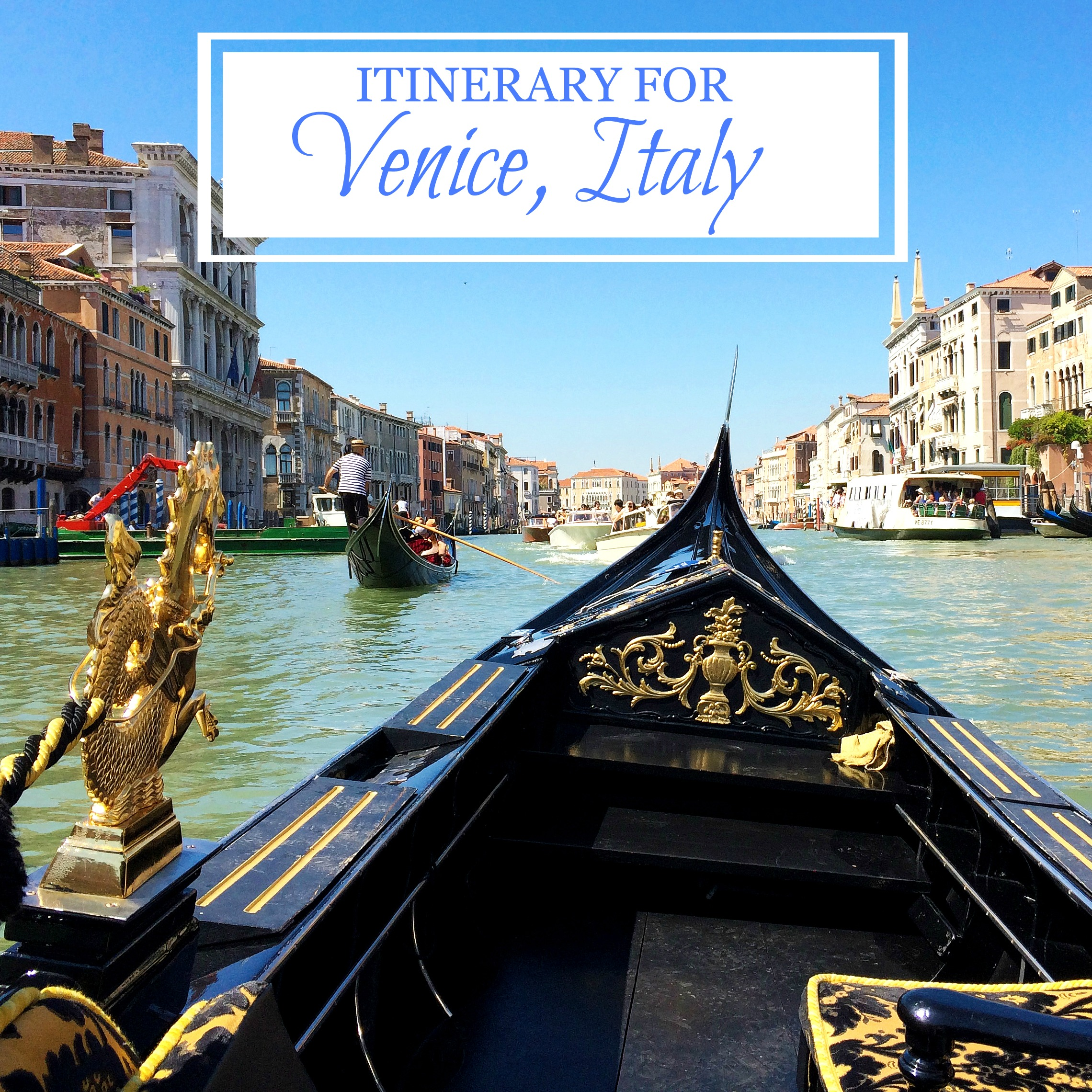 Itinerary for venice italy destination dorworth for What to see in venice in 2 days